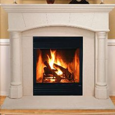 "EM415 - 36"" Energy Master Woodburning Fireplace"