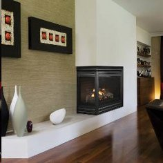 Heat-n-Glo Corner Series Gas Fireplace