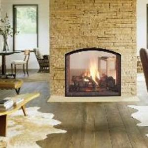 Heat-n-Glo Escape See-through Gas Fireplace