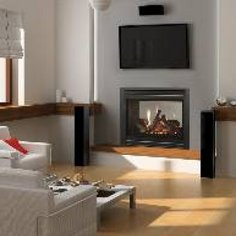 Heat-n-Glo ST-36TR See-Through Gas-burning Fireplace