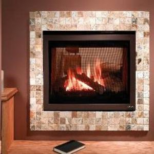 Heat-n-Glo ST-550T See-Through Fireplace