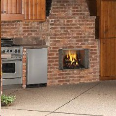 Villawood Wood-burning Outdoor Fireplace