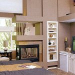 Multi-Sided Fireplaces