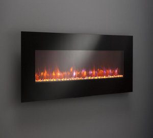 "GE-70 70"" Gallery Linear Electric LED fireplace"