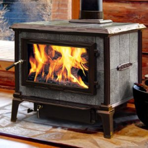Mansfield Soapstone Wood Stove