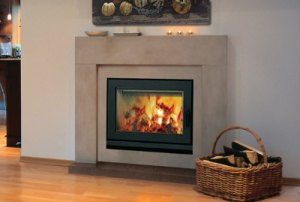 Brentwood LV EPA Phase II certified Woodburning Fireplace