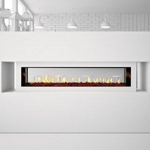 Heat-n-Glo Primo See-Through Gas Fireplace