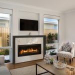 Contemporary Style Fireplaces