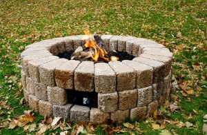 DIY-38 Gas Fire Pit Burner Kit for Round Paver Fire Pits
