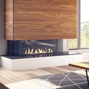 Regency San Francisco Bay 40 three-sided Gas Fireplace
