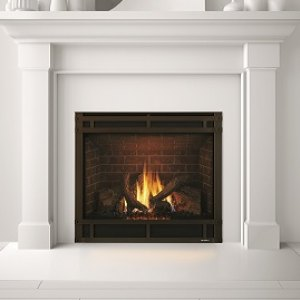SL-9/9X Slim Line Gas-burning fireplace
