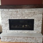 Contemporary Style Fireplace