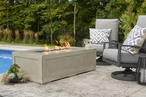 Cove Linear Fire Table