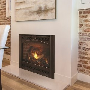 SL-3X Slim Line Gas-burning fireplace