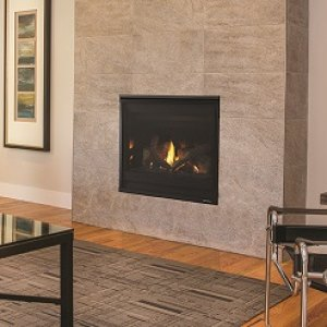 SL-5/5X Slim Line Gas-burning fireplace
