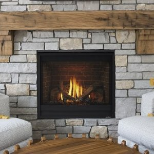 SL-7/7X Slim Line Gas-burning fireplace