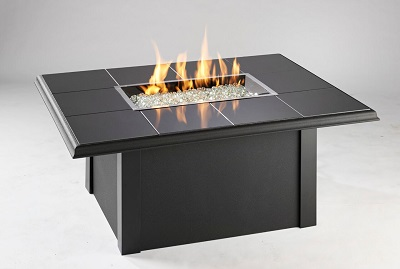DISPLAY Napa Valley Black Granite Fire Table - On Sale for $699.00, a savings of $800.00 off