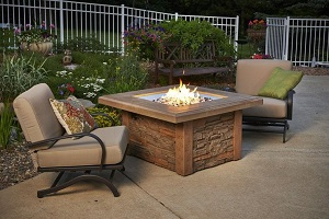 DISPLAY Sierra Square Fire Table - On Sale for $2,099.00, a savings of $500.00 off