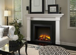 "Built-in 36"" Electric Fireplace"