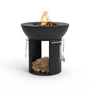 Standing Fire Pit Grill