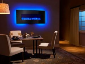 Wall-Mount Electric Fireplaces
