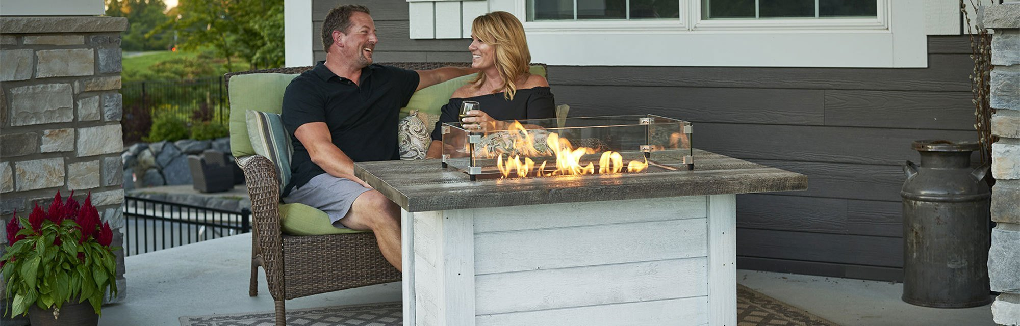 Gas Fire Table options for your backyard