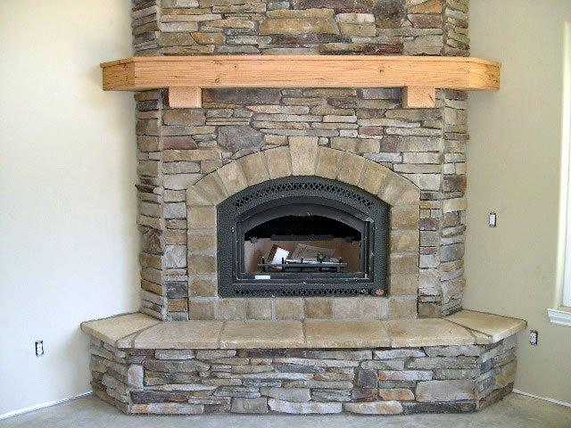Stone fireplaces la crosse fireplace company - Fireplace mantel piece ...